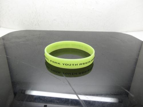 silicone bracelets with company logo