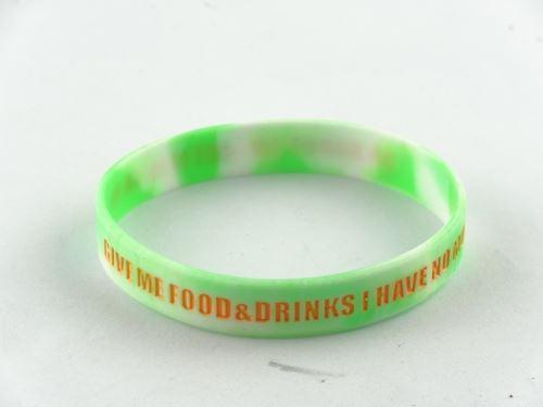 glow in the dark rubber bracelets