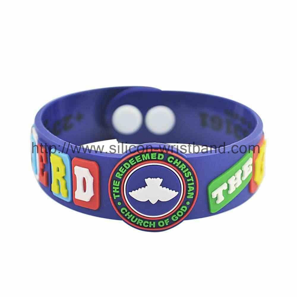 silicone bracelets reminderband